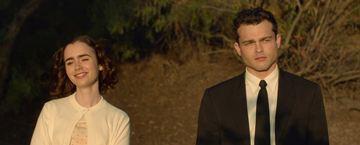 """""""Regeln spielen keine Rolle"""": Lily Collins verliebt sich im neuen Trailer zur Hollywood-Romanze in """"Han Solo"""" Alden Ehrenreich"""