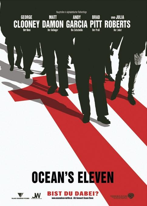 oceans eleven besetzung