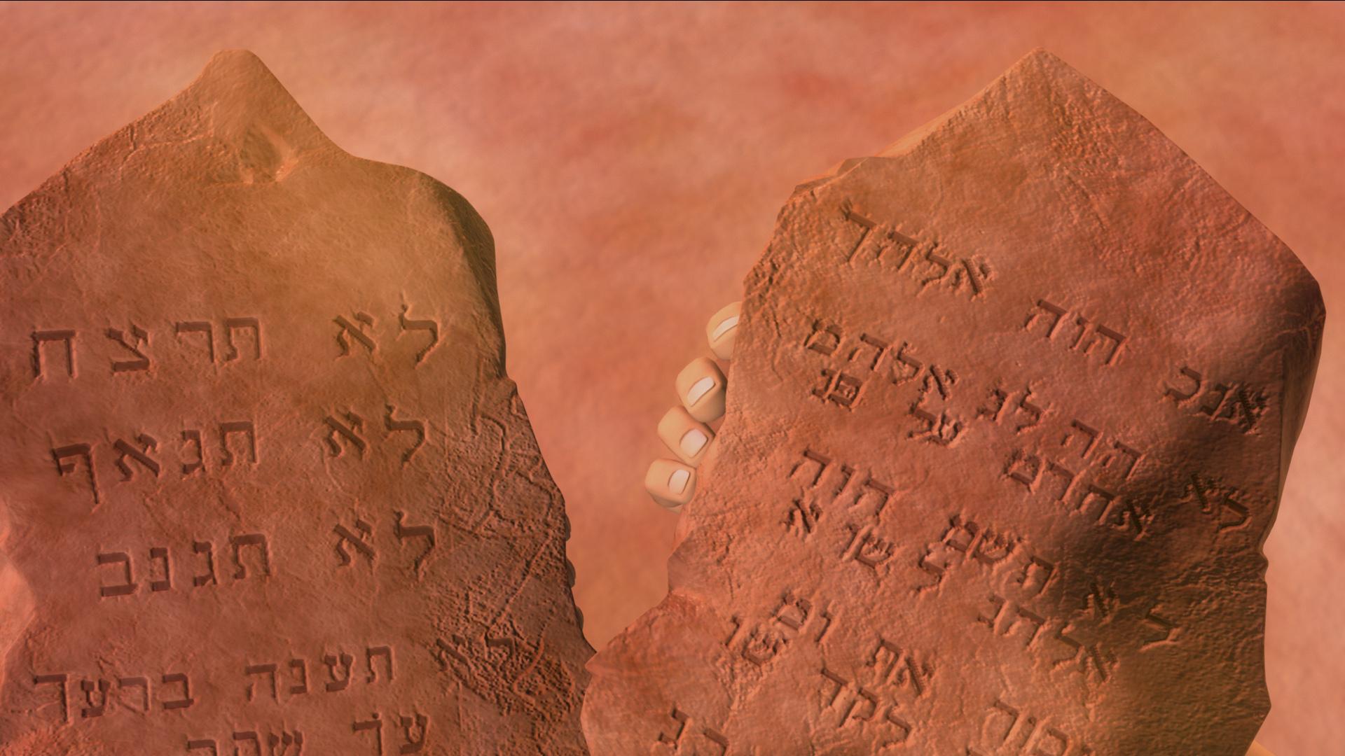 Die zehn Gebote - Moses und das Geheimnis der steinernen Tafeln ...