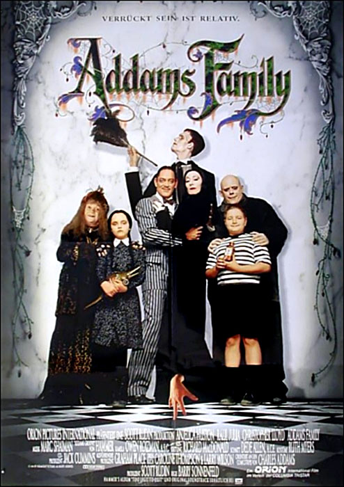 die addams family film 1991. Black Bedroom Furniture Sets. Home Design Ideas