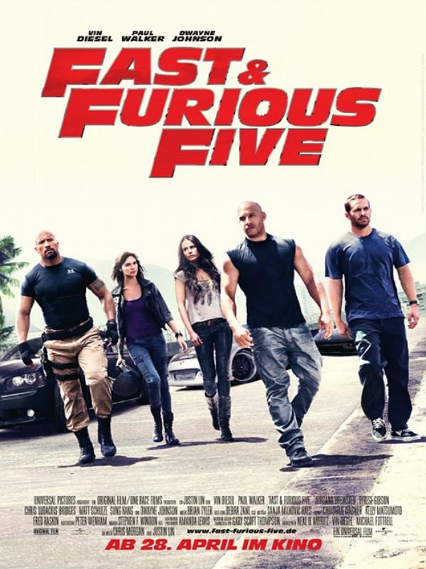 Fast & Furious Five Besetzung