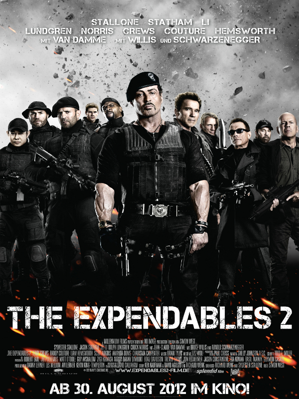 The Expendables 2 Besetzung