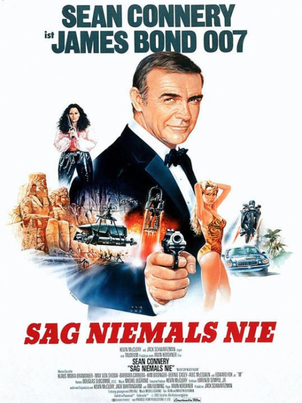 Sean Connery Sag Niemals Nie