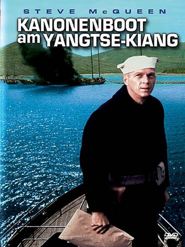 Kanonenboot Am Yangtse Kiang
