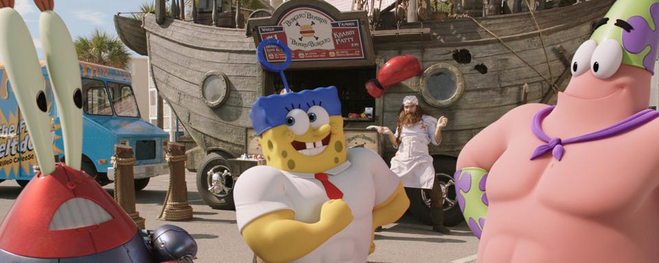 Spongebob Schwammkopf 3d Neuer Super Bowl Spot Verspricht