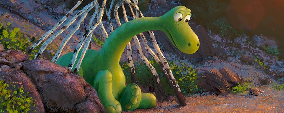 neuer trailer zu pixars der gute dinosaurier eine freundschaft zwischen dino und mensch. Black Bedroom Furniture Sets. Home Design Ideas