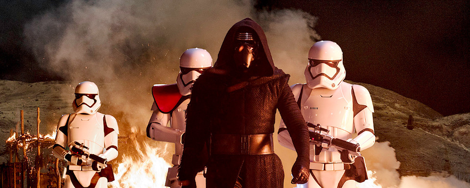 So Hören Sich Kylo Ren Finn Und Captain Phasma Aus Star Wars 7 An