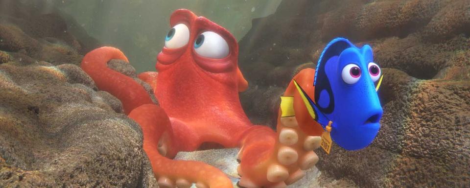 Findet Nemo Tintenfisch