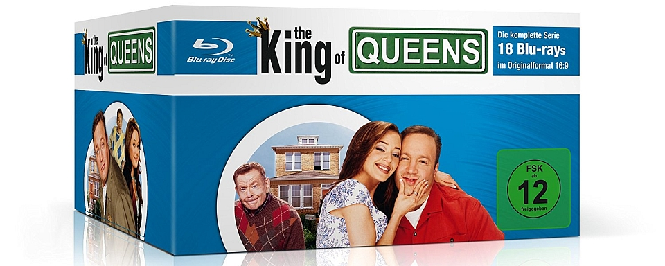 euro amazon gutschein gewinnen mit der king of queens blu ray superbox und ber 500. Black Bedroom Furniture Sets. Home Design Ideas