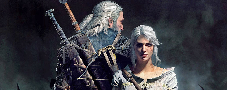 With White Ciri: The main cast of the Netflix series