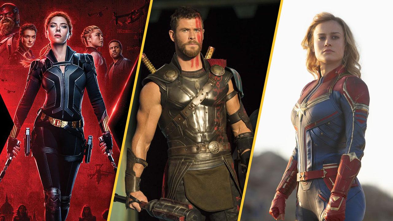 """Alle deutschen MCU-Starttermine bis 2022 – von """"Black Widow"""" bis """"Captain Marvel 2"""""""