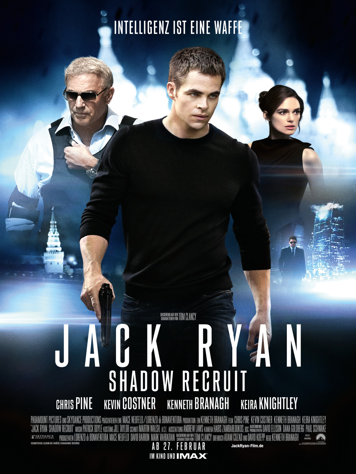 Jack Ryan: Shadow Recruit Soundtrack