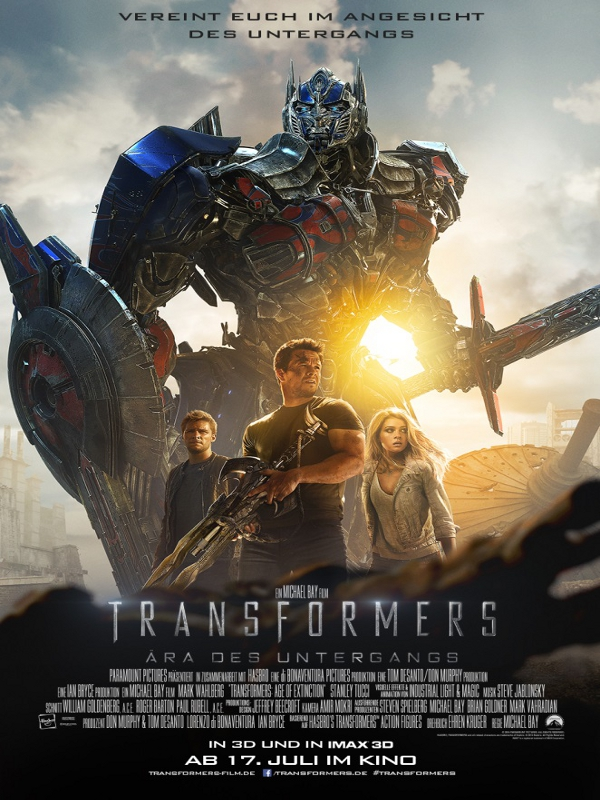 Transformers ära Des Untergangs Stream