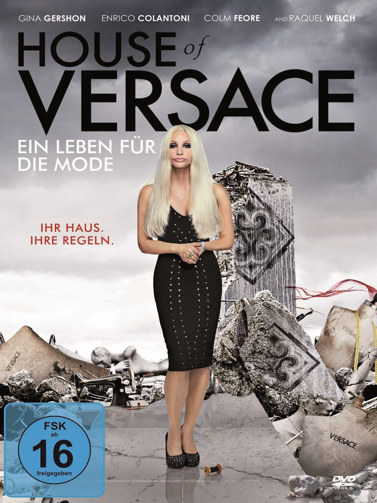 house of versace ein leben f r die mode schauspieler. Black Bedroom Furniture Sets. Home Design Ideas