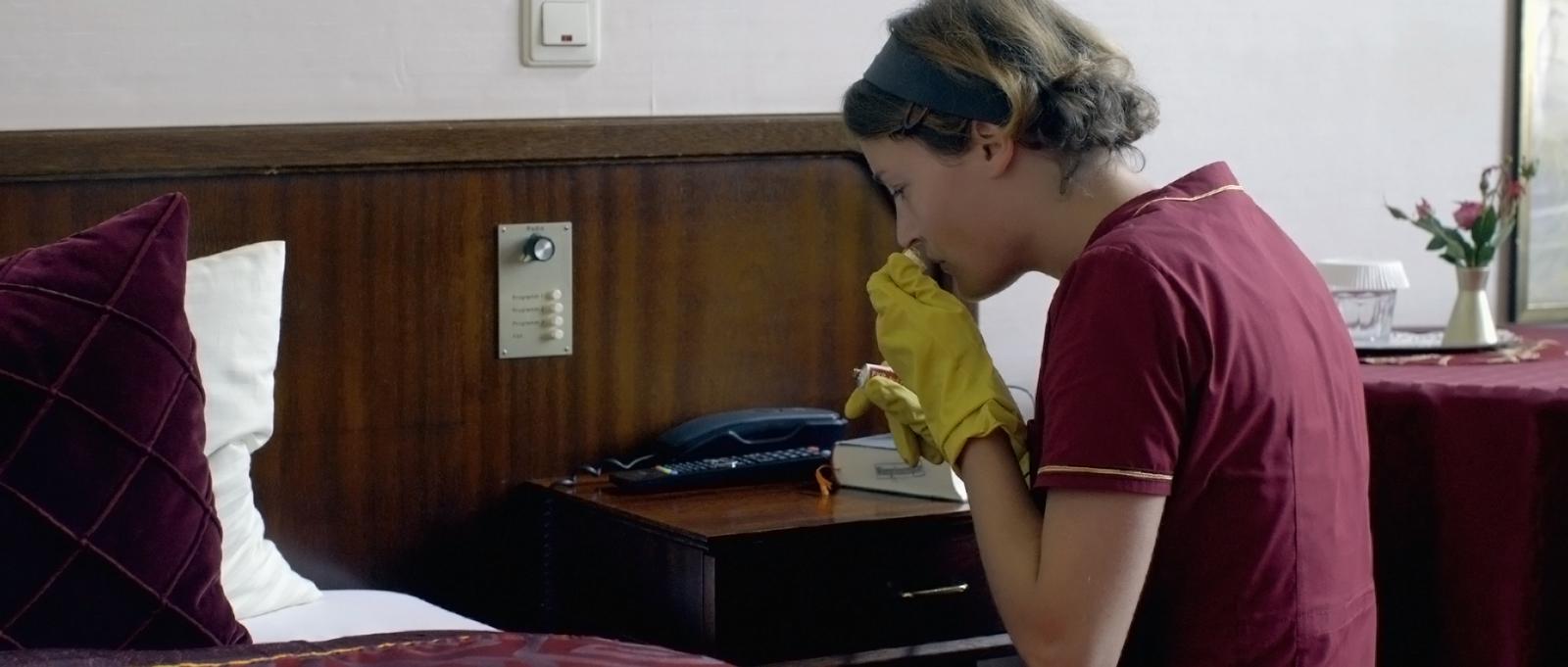 Das Zimmermädchen Lynn : Bild Christian Aumer, Vicky