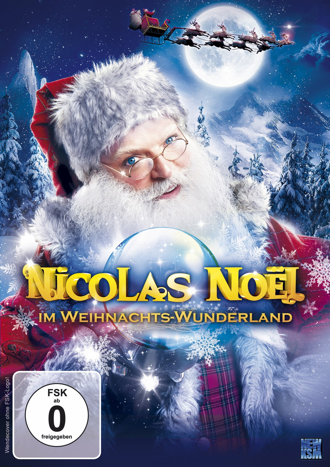 nicolas no l im weihnachts wunderland in dvd oder blu ray. Black Bedroom Furniture Sets. Home Design Ideas