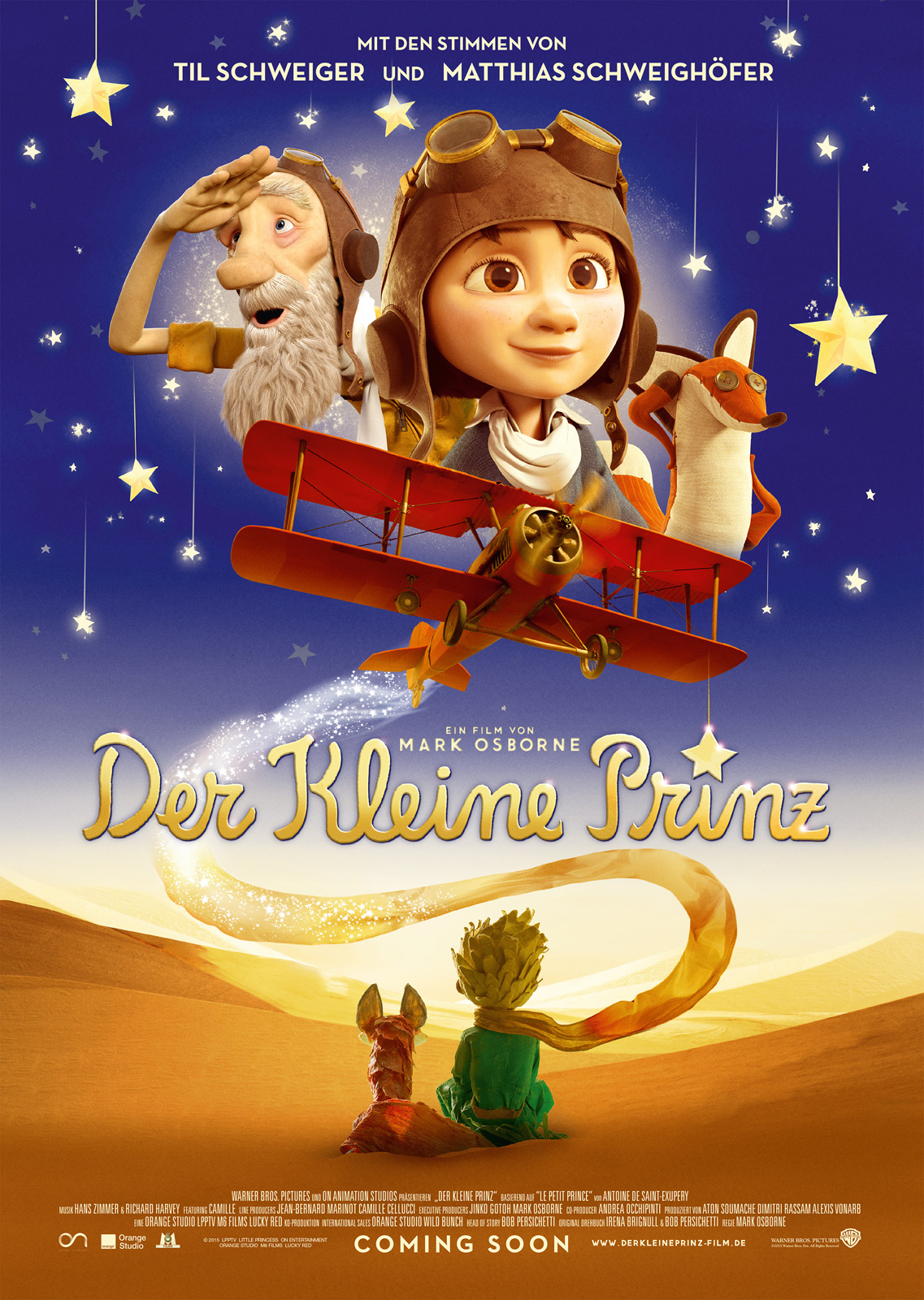 Der kleine Prinz - Die Filmstarts-Kritik auf FILMSTARTS.de