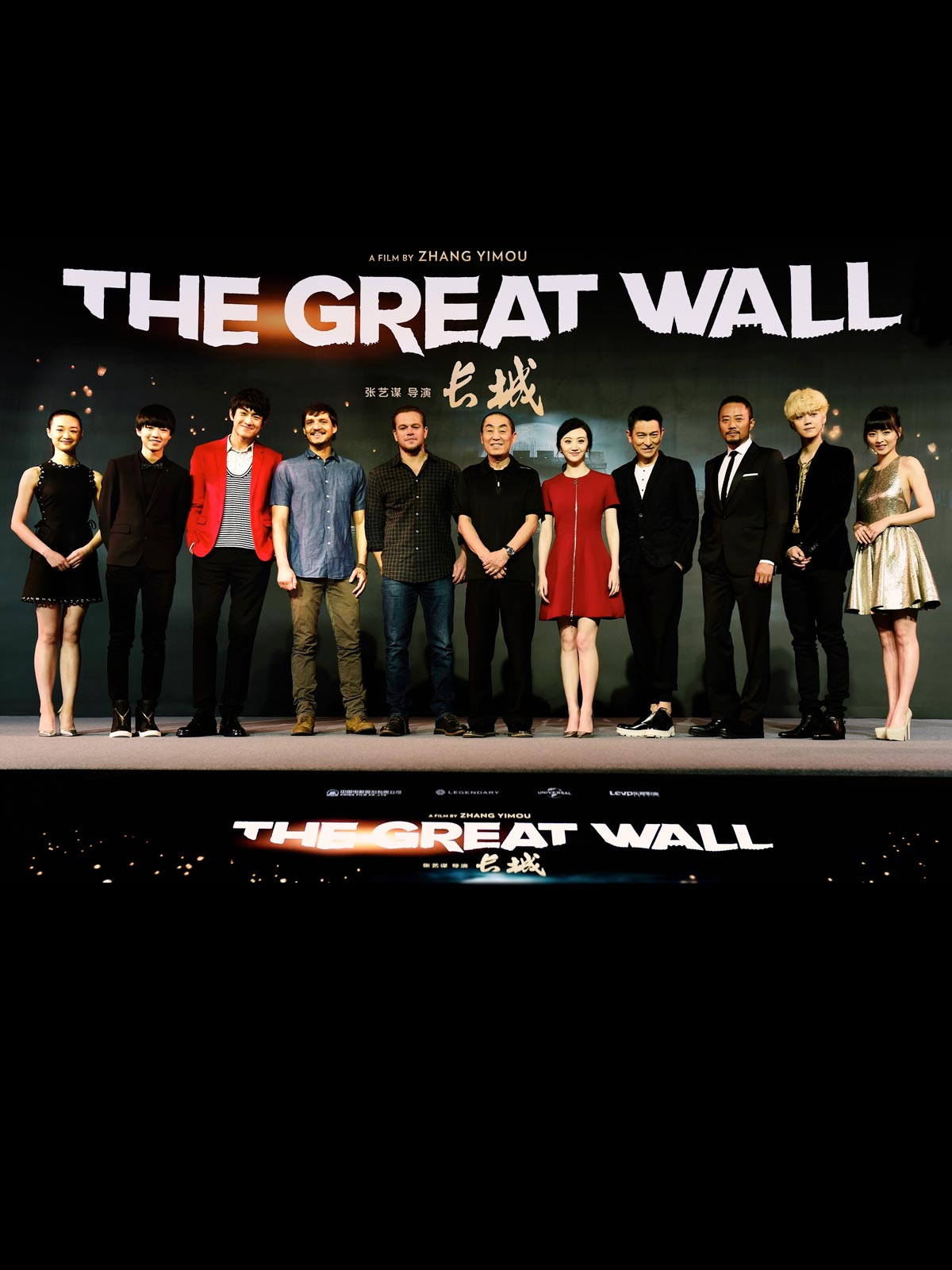 The Great Wall Besetzung