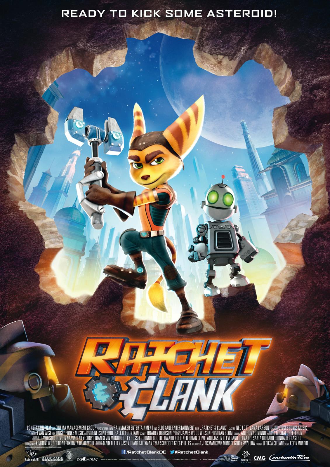 Ratchet & Clank Film Stream