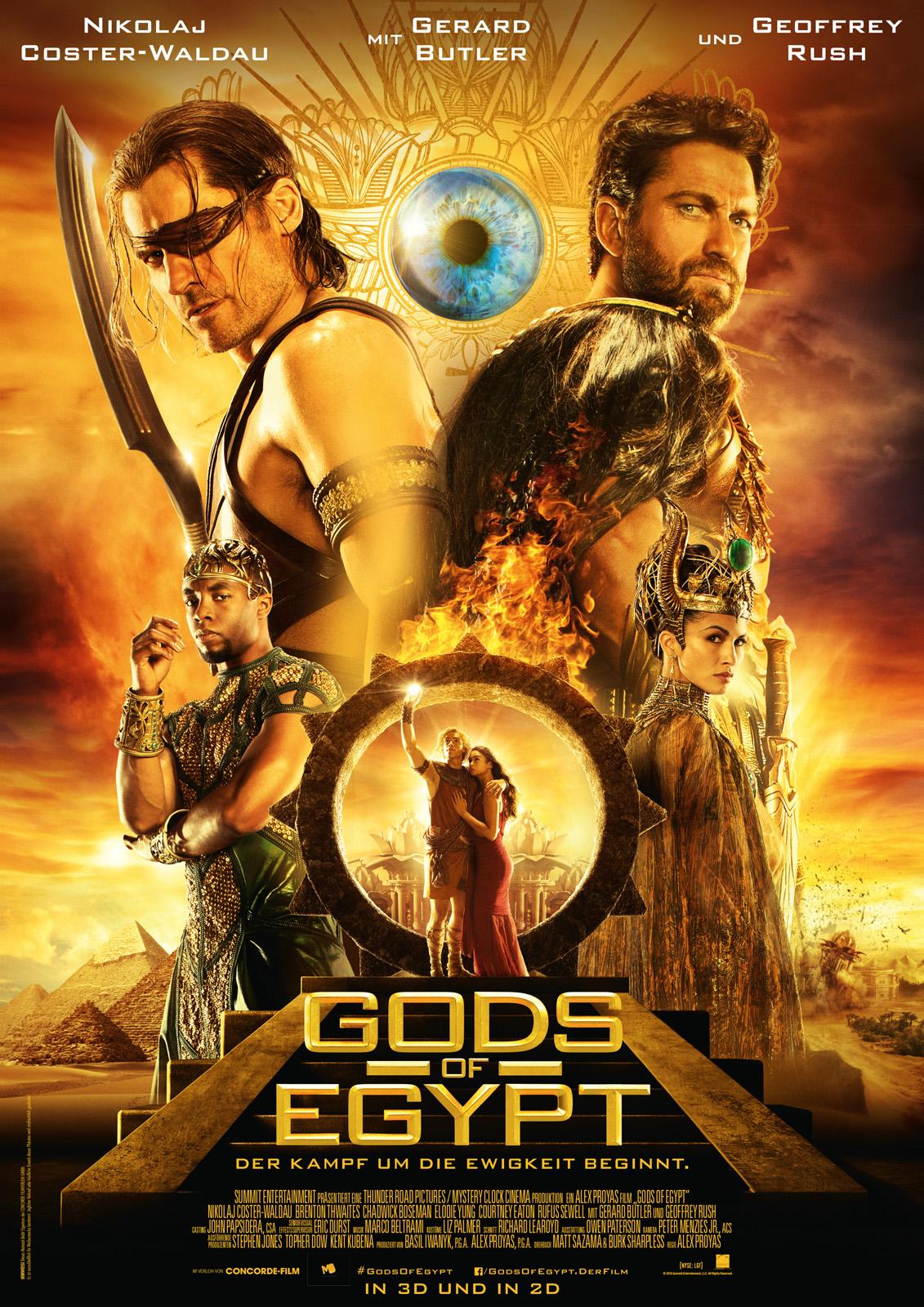 gods of egypt deutsch