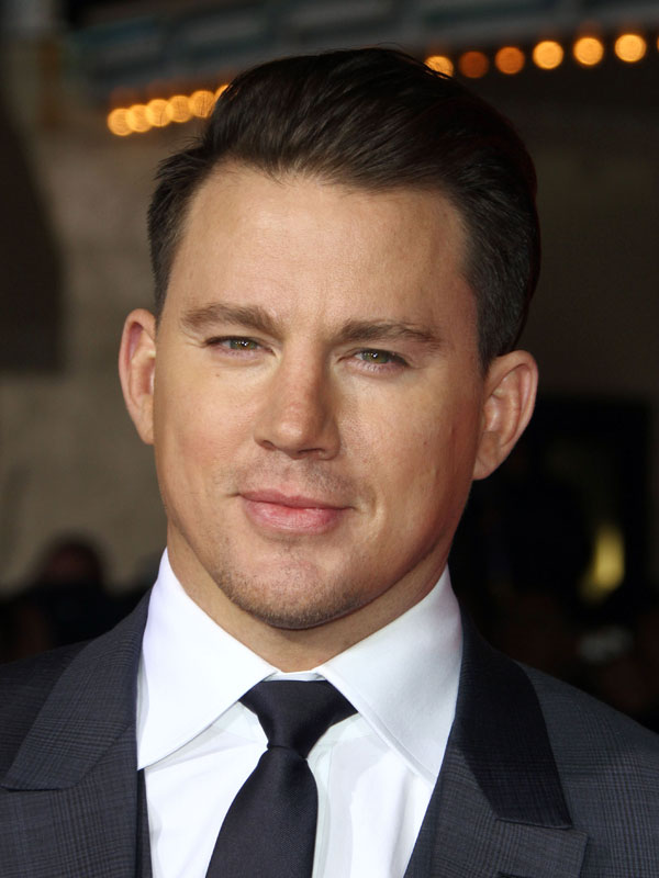 channing tatum. Black Bedroom Furniture Sets. Home Design Ideas