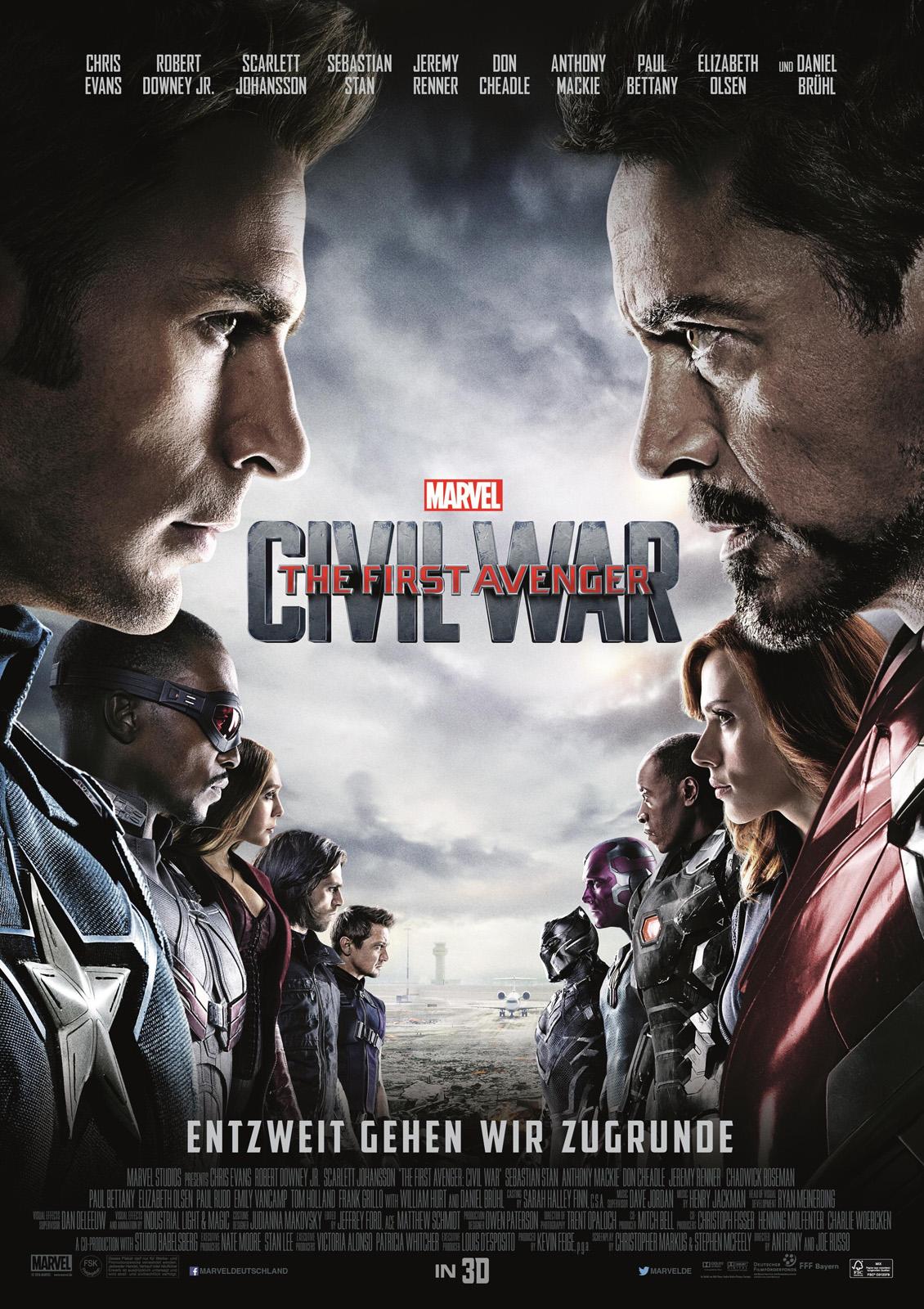 The First Avenger Civil War Film 2016 Filmstarts De