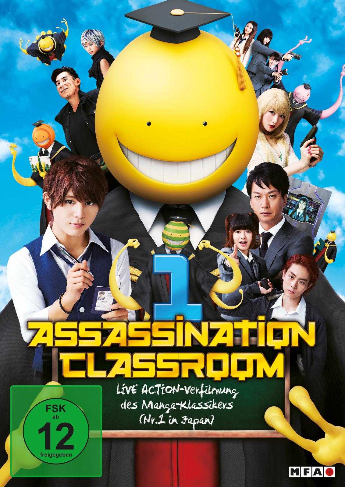 Assassination Classroom 1 Schauspieler Regie Produktion