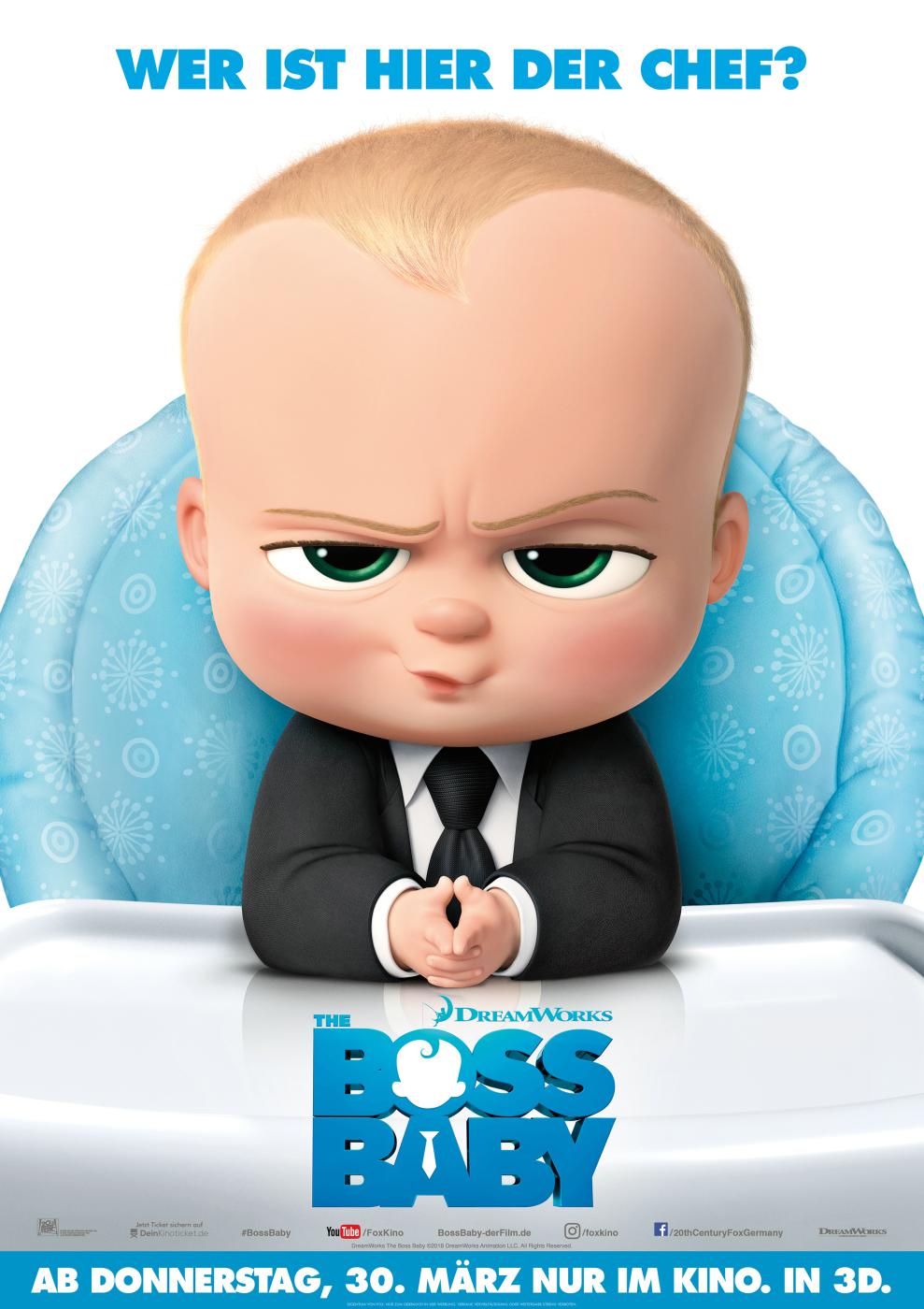 The Boss Baby Soundtrack Filmstarts De