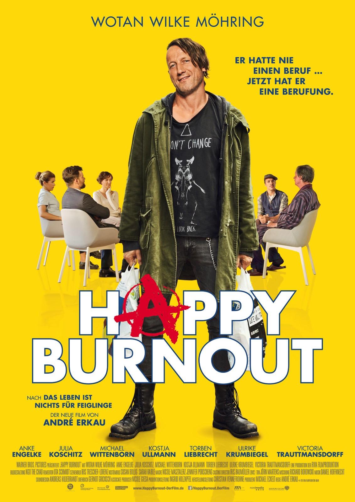 happy burnout besetzung
