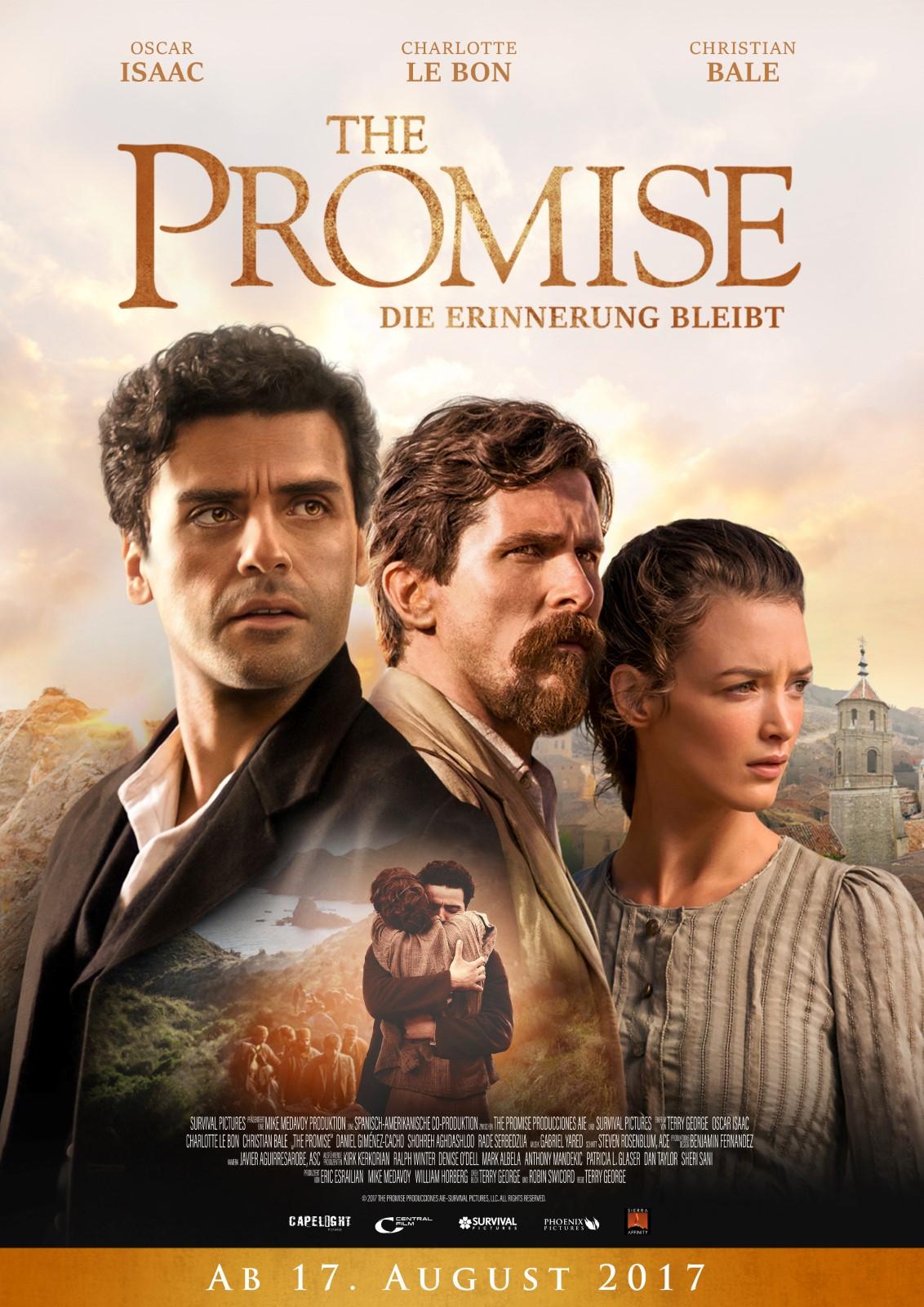 The Promise - Die Erinnerung bleibt - Film 2017 ...