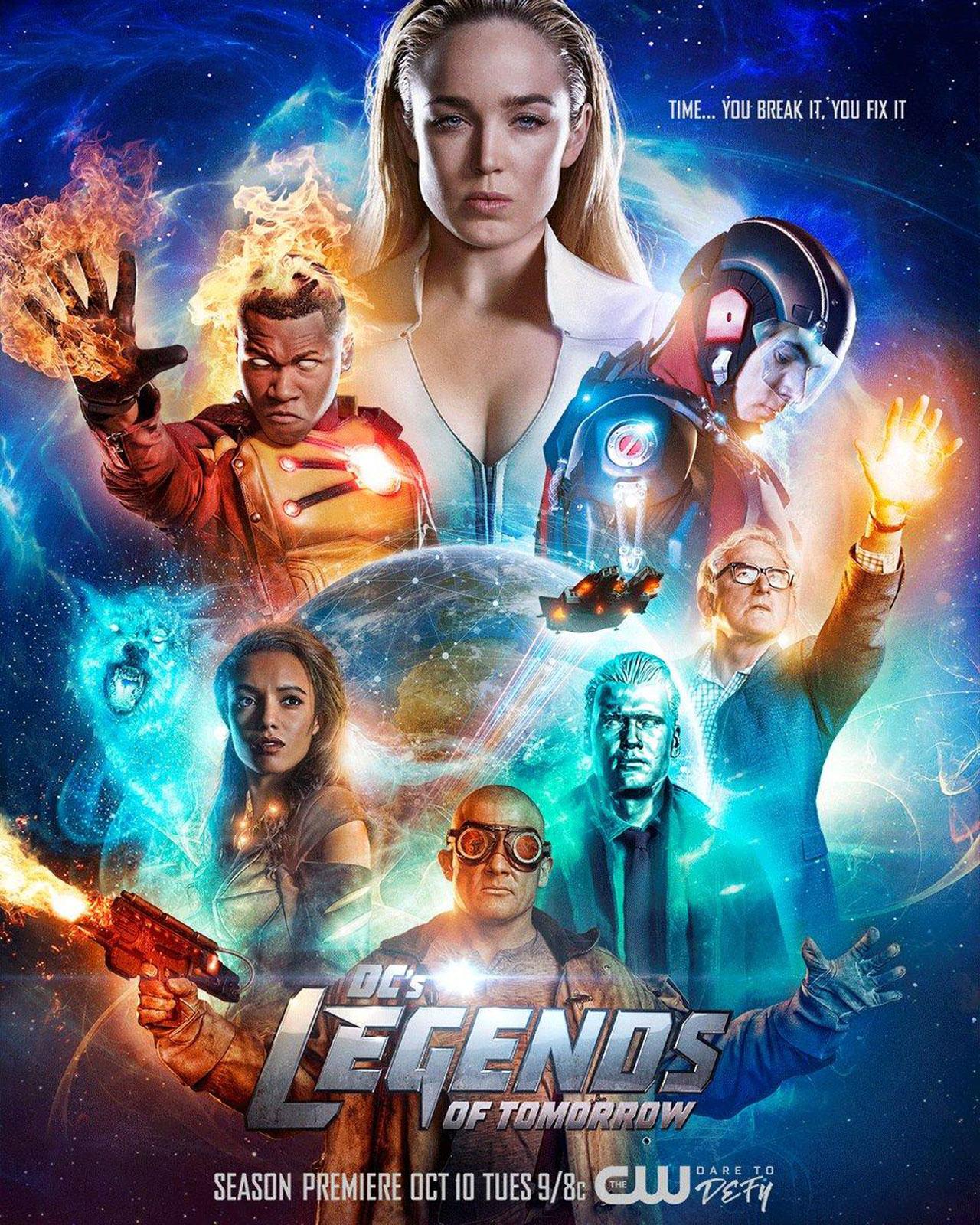 Legends Of Tomorrow Staffel 3 Deutsch