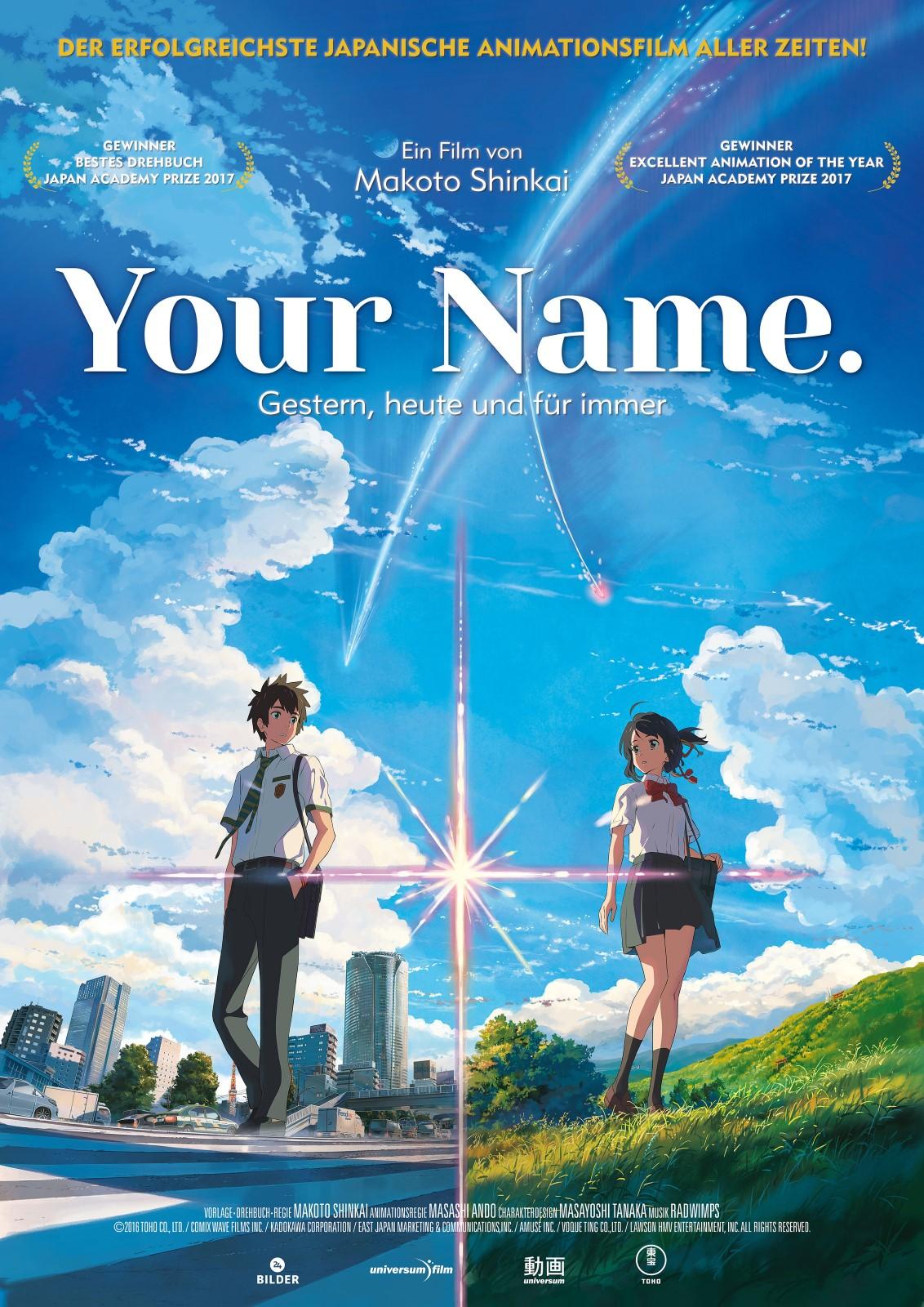 Your Name. - Die Filmstarts-Kritik auf FILMSTARTS.de