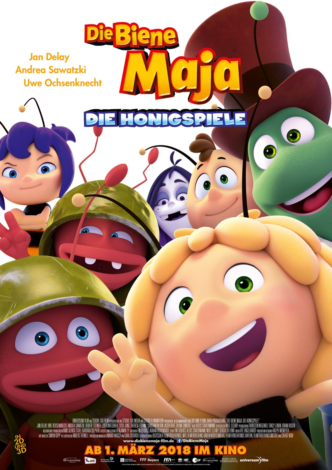 Wo kann man Die Biene Maja 2 - Die Honigspiele online streamen?