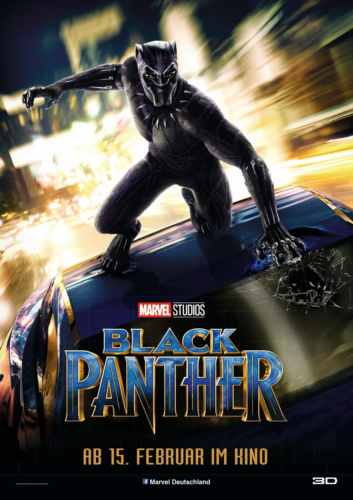 Black panther movie posters for sale