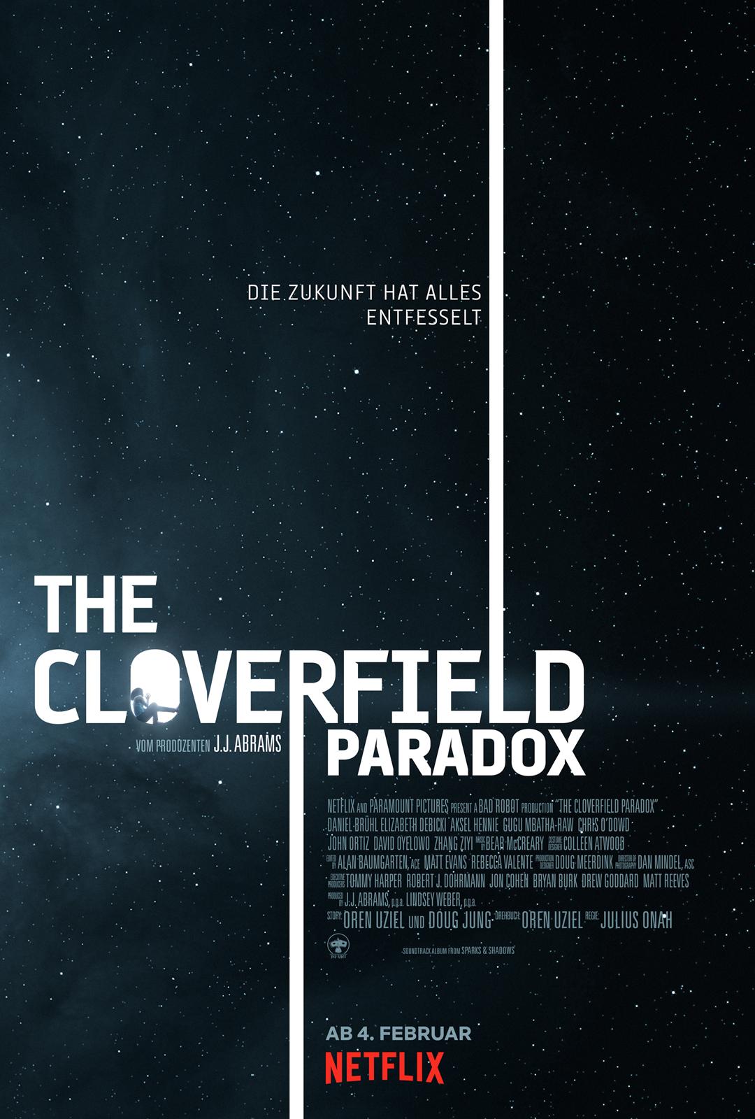 The Cloverfield Paradox Stream Deutsch