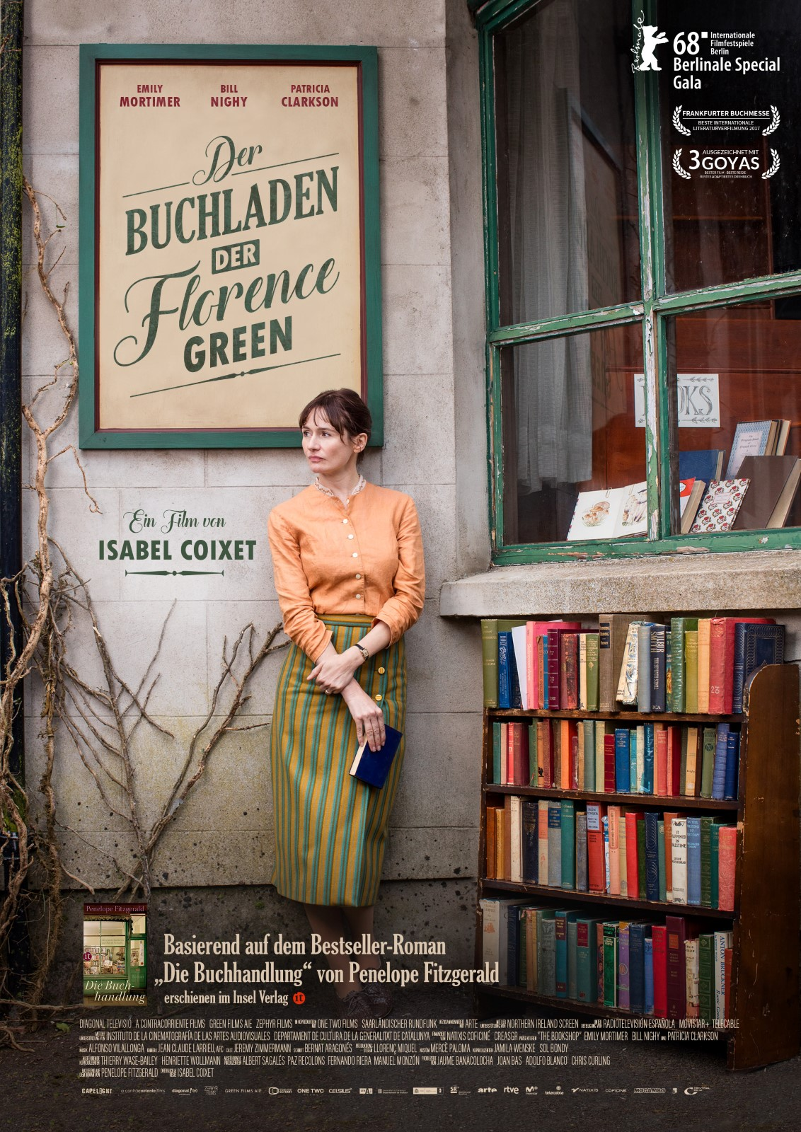Anschauen Der Buchladen der Florence Green / The Bookshop film in Deutsch mit Untertiteln in FULL HD