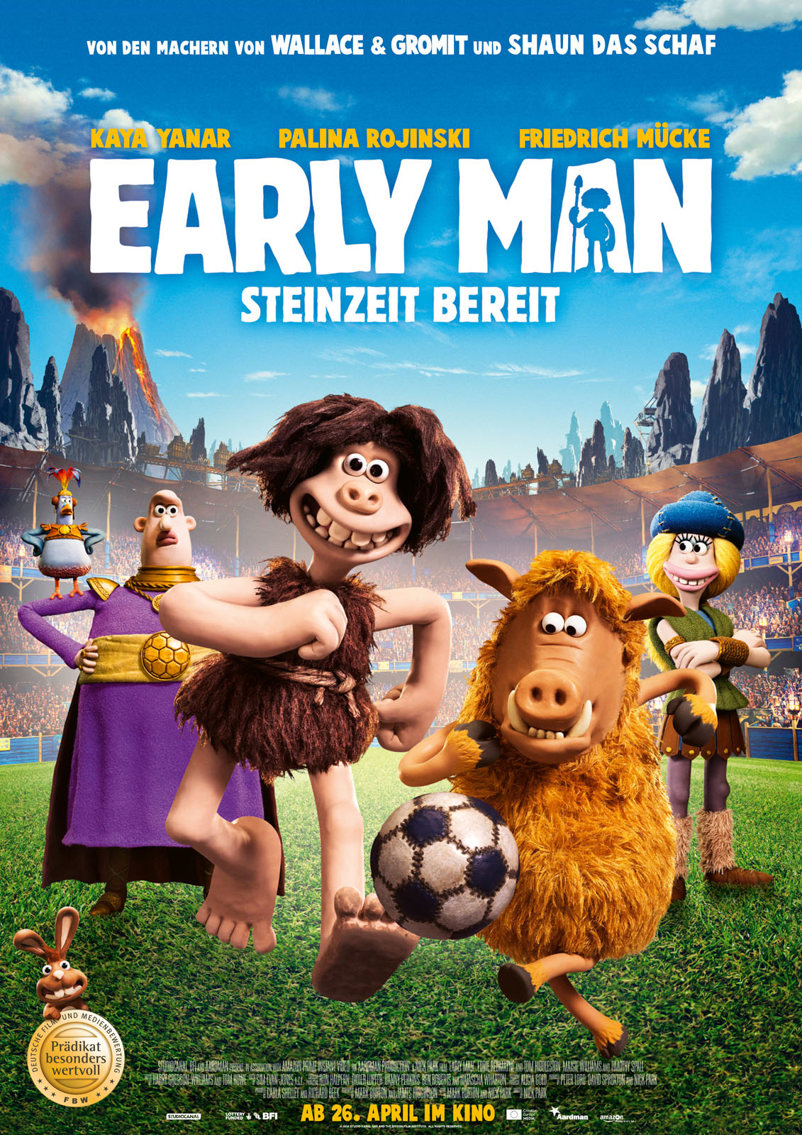 Anschauen Early Man - Steinzeit bereit / Early Man film in Deutsch mit Untertiteln in FULL HD