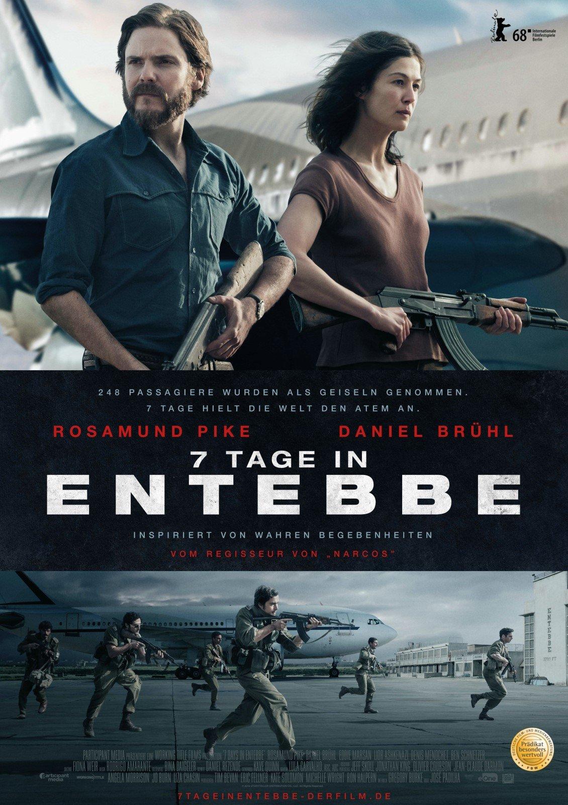 7 Tage in Entebbe - Film 2018 - FILMSTARTS.de  7 Tage in Enteb...