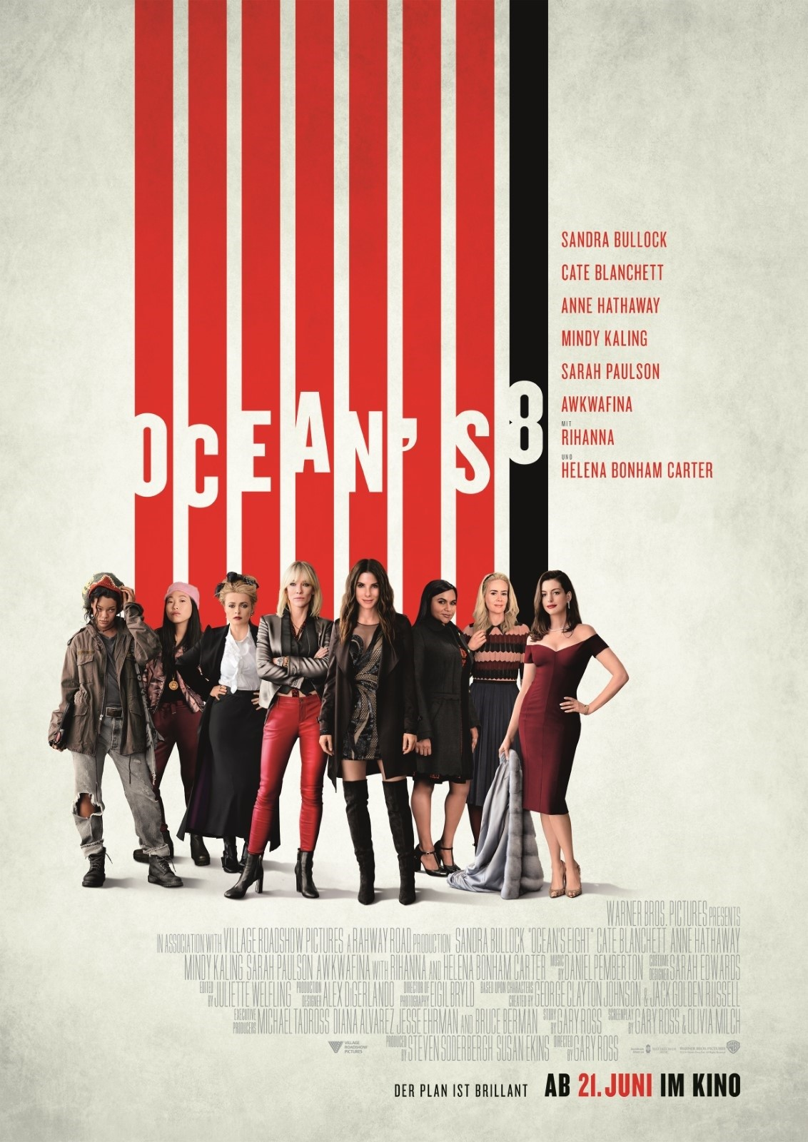 Anschauen Ocean's 8 film in Deutsch mit Untertiteln in FULL HD