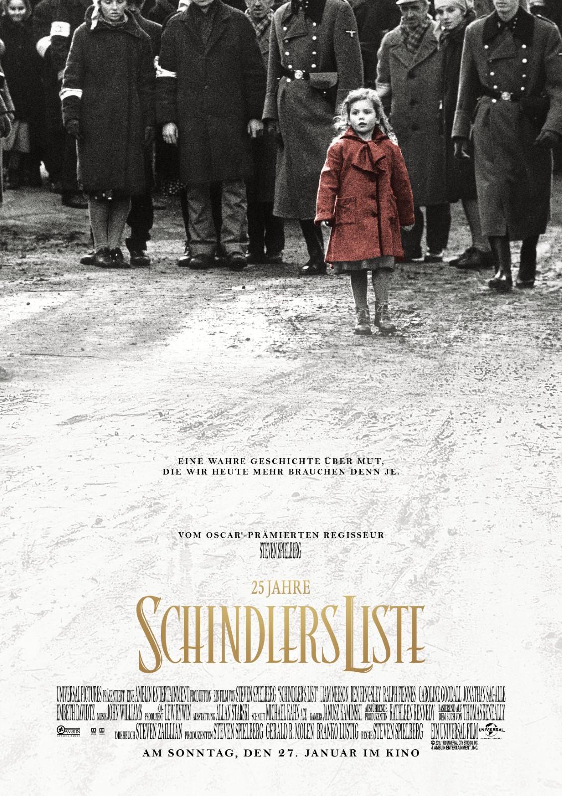 Schindlers Liste Besetzung