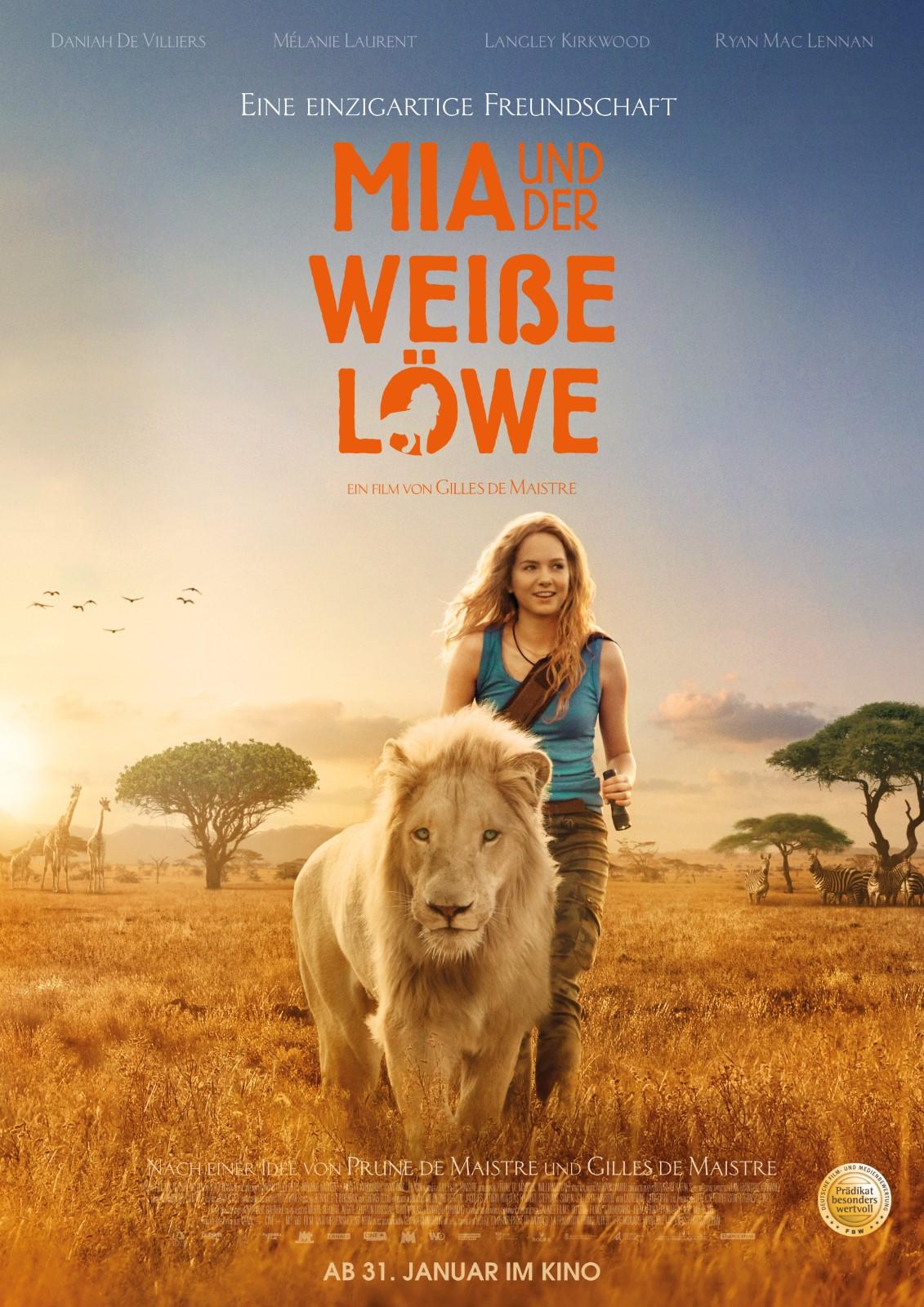 Kinoprogramm Für Mia Und Der Weiße Löwe In Hoppstädten Weiersbach