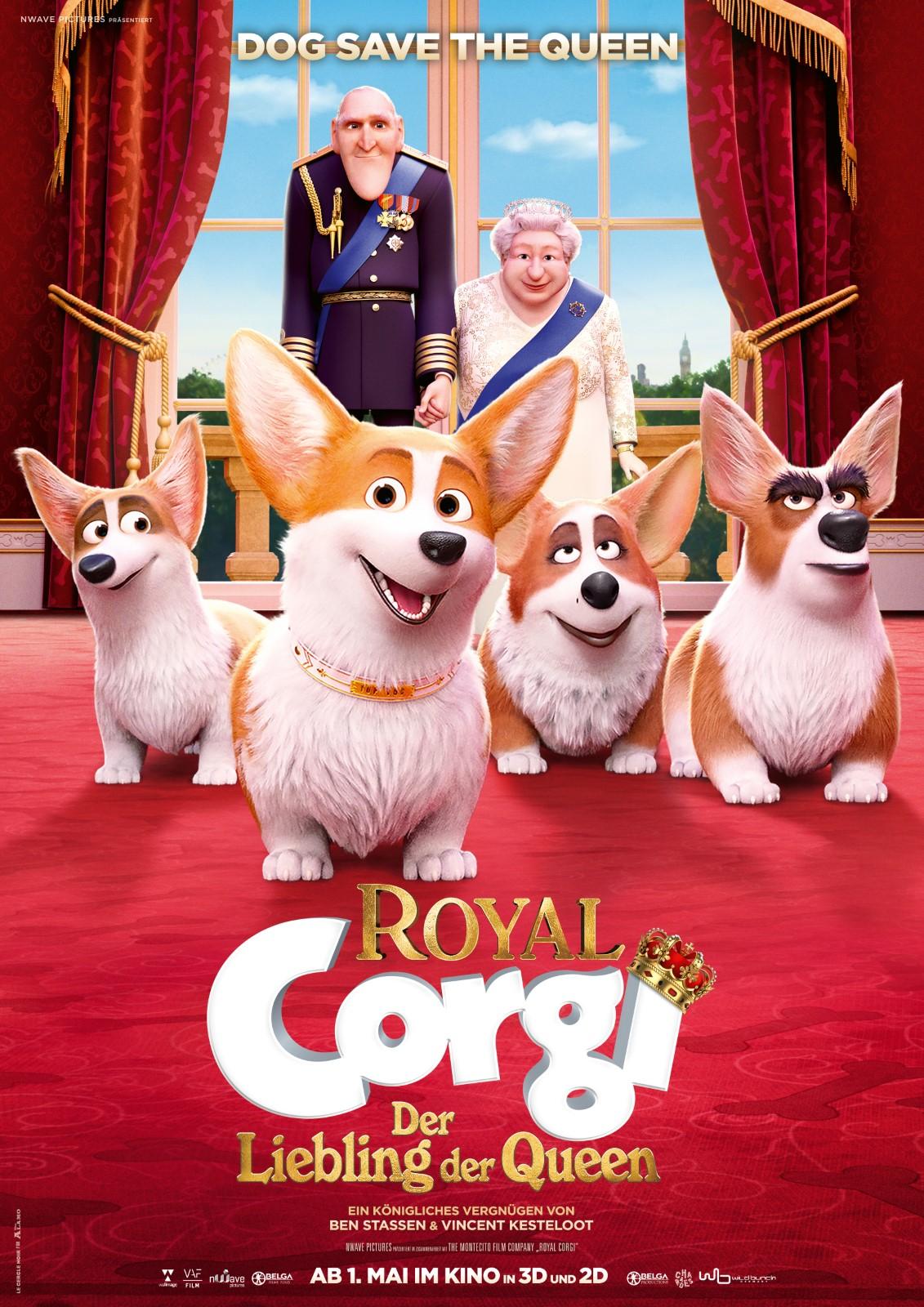 Corgis Der Queen