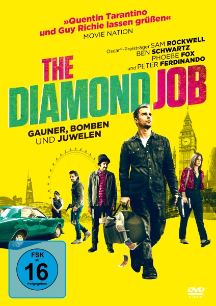 The Diamond Job - Gauner Bomben Und Juwelen