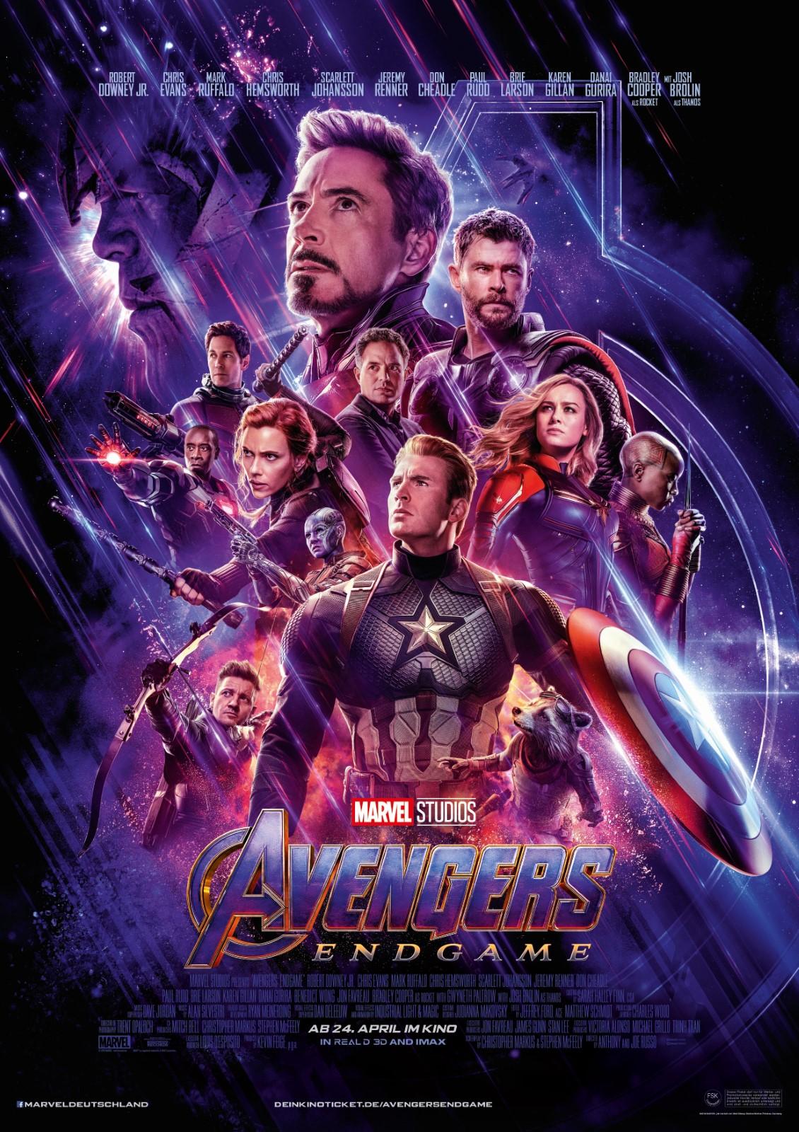 Avengers Endgame Einspielergebnis