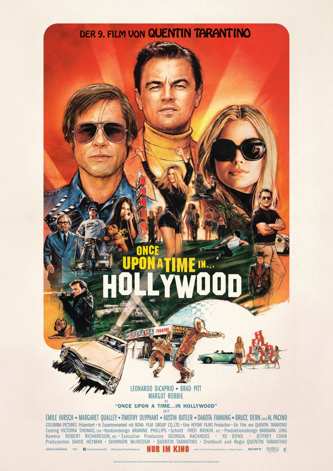 Once Upon A Time In Hollywood Besetzung