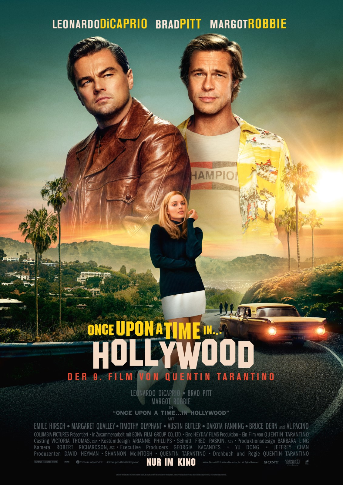 Once Upon A Time At Christmas 2019.Once Upon A Time In Hollywood Film 2019 Filmstarts De