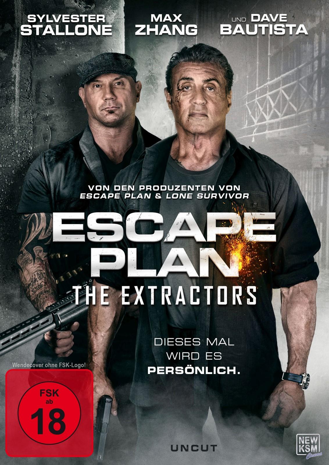 2 - Escape Plan 3: The Extractors