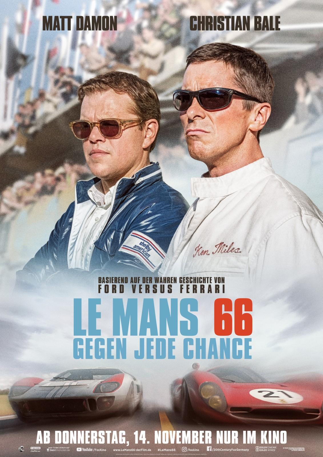 Die Filmstarts-Kritik zu Le Mans 66 - Gegen jede Chance