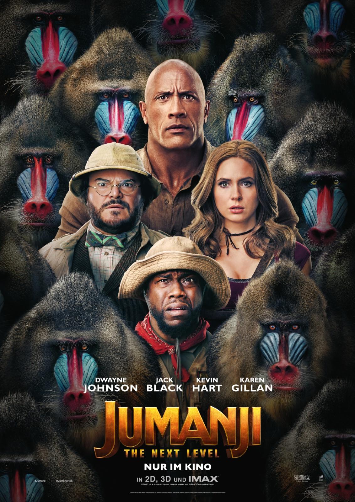 Jumanji 2 Kinostart