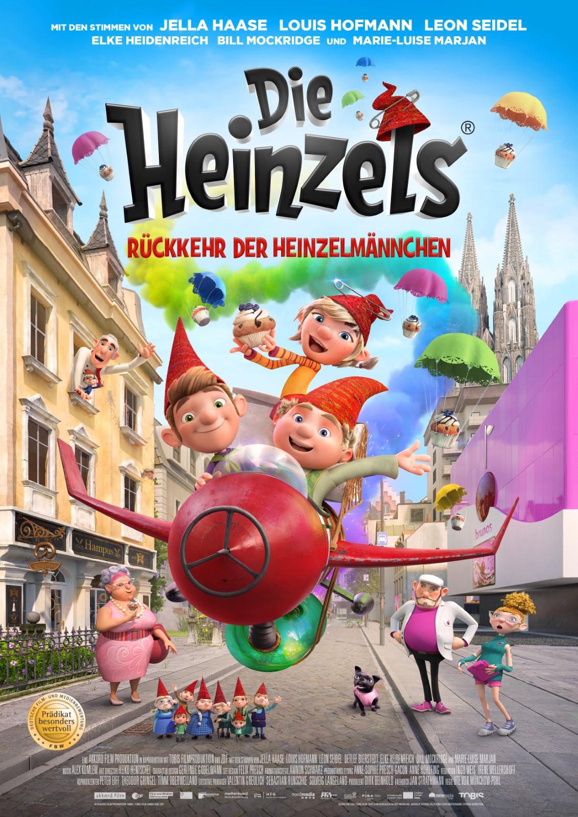 Die Heinzels Ruckkehr Der Heinzelmannchen Film 2019 Filmstarts De
